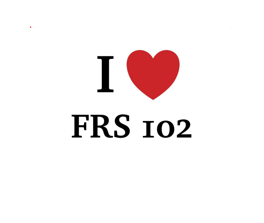 Watch out… there's an FRS 102 about…